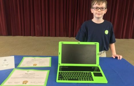 Watermark for Kids and The Fountains at Boca Ciega Bay Help Local Student, Riley Gigstead, Attend iD Tech Camp